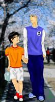 Tenipuri: Hatsuharu : Masaharu by rhythmic-high