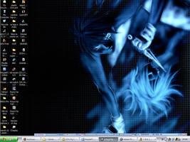 Desktop:: Kakashi + Sasuke by rhythmic-high