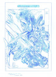 Guardians of the Galaxy Pencils by RobPaolucci