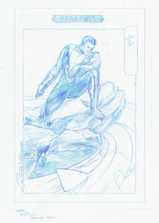 Namor Pencils by RobPaolucci