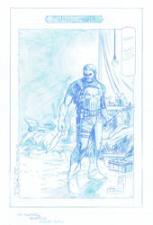 Punisher Pencils by RobPaolucci