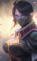 Templar Assassin from Dota! by Seuyan
