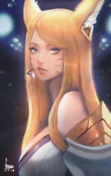 Ahri new skin by Seuyan