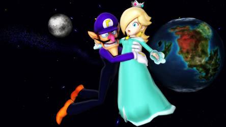 (MMD) Into the Galaxy by Luigi192837465