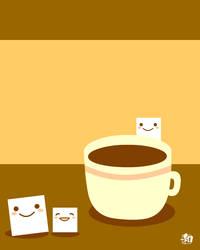 Sugar and tea by wachachai