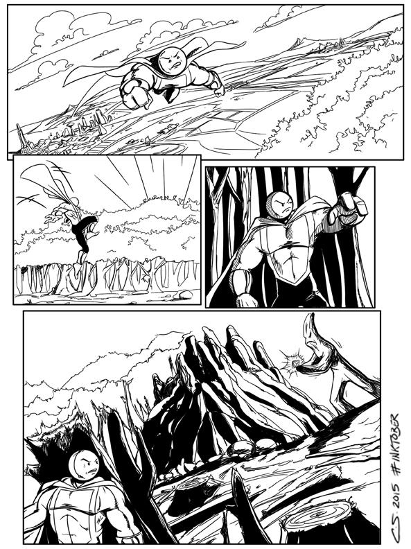 ROE Comic Page by Citrusman19