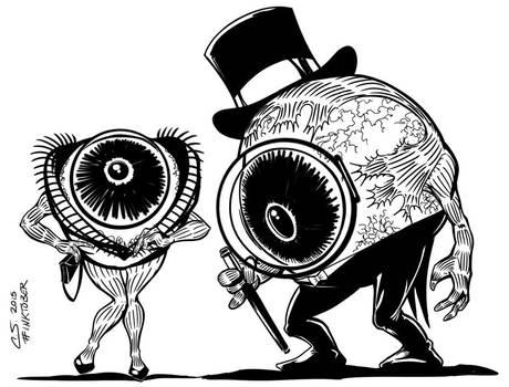 Iris and Oculus by Citrusman19