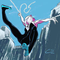 SpiderGwen by Citrusman19