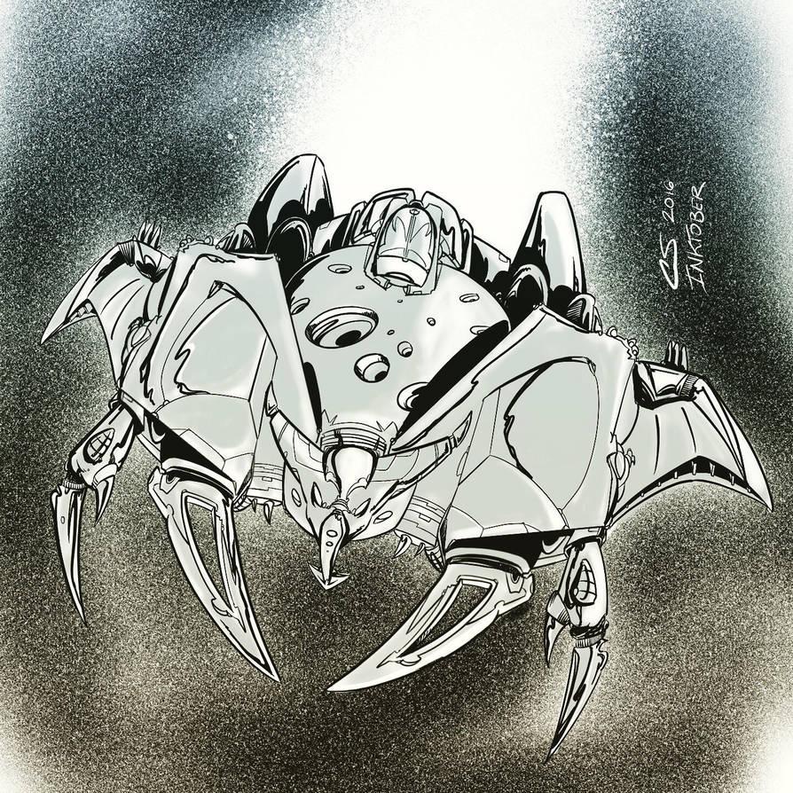 Hunter robot vessel mode by Citrusman19