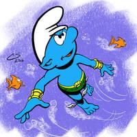 Smurf-Mariner by Citrusman19