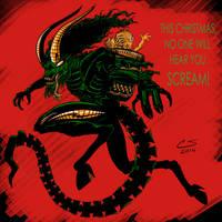 Xeno-Krampus by Citrusman19