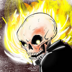 Ghost Rider by Citrusman19