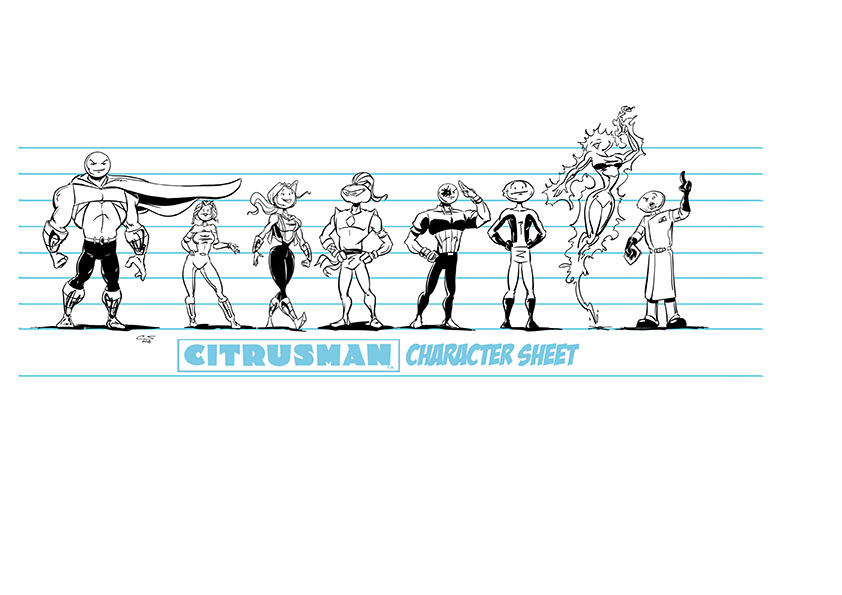 Citrusman New Style Character sheet by Citrusman19
