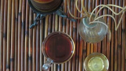 Still Life With Tea II by kashuarashi