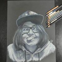 funny face portrait by mgclz