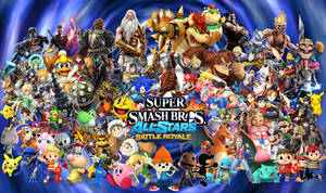 Super Smash Bros All-Star Battle Royale! by Elemental-Aura