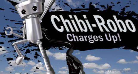 Chibi-Robo for SSB4 by Elemental-Aura