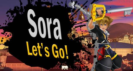 Sora SSB4 Request by Elemental-Aura