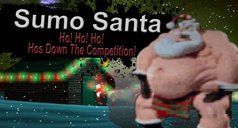Sumo Santa SSB4 Request by Elemental-Aura