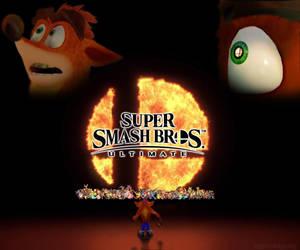 Crash for Super Smash Bros Ultimate by Elemental-Aura