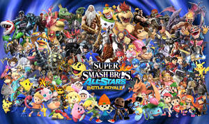 Ultimate Super Smash Bros Battle Royale! by Elemental-Aura