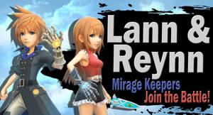 Lann and Reynn SSBU Request by Elemental-Aura