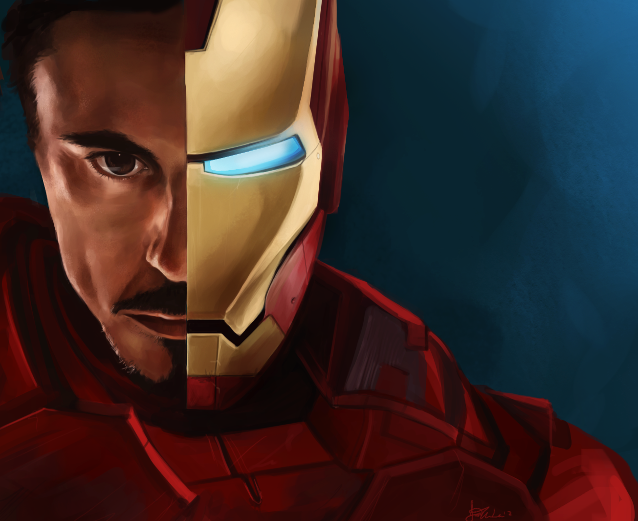 I am Iron Man by Kasu-kan
