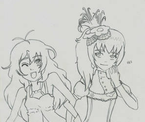 Request: Alice and Alice by Adventwin