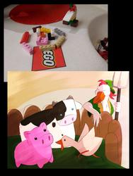 Lego Farm-thingy by JarosLeal
