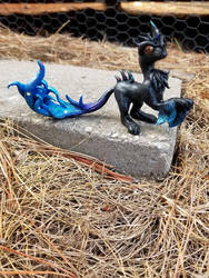 Cosmo Wolf Dragon by ShotsyShotsy