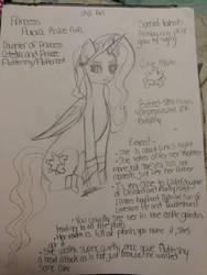 Princess Aurora Raine Aria ~ New Oc by SmolSua