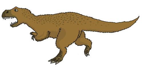 Tyrannosaurus by watapraski