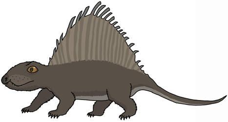 Hairy Dimetrodon by watapraski