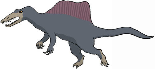 Spinosaurus by watapraski