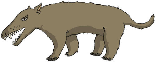 Outdated Andrewsarchus by watapraski