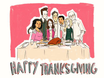 COMMUNITY - Happy Thanksgiving by Engelen