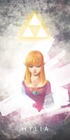 Our Goddess Hylia by bvdconcept
