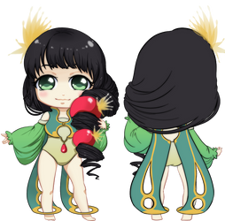 MiniSpris: Kanon Front+Back by Cydnee-B