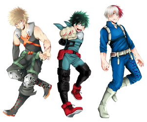 BNHA: Standees~!!! by Ten-Shika