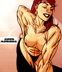 Red in the morning by Ritualist