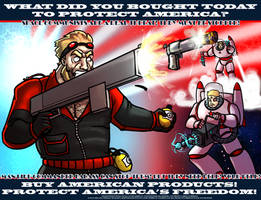 Commander Badass poster by Ritualist
