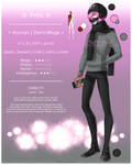 [OC Ref] - Pinky / Yuuki by May-Shad
