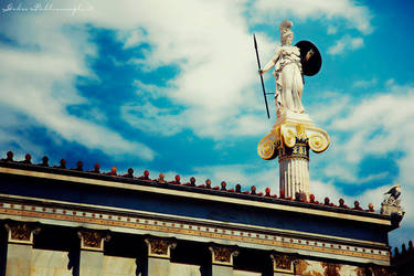 Athena of Athens by Anahita