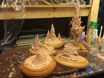 Castle Miniaturettes by Tiamatus