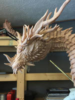 Ungotesluth, Dragon Titan WIP 2 by Tiamatus
