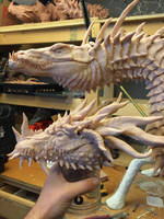 Dragon Head re-design Wip 4 by Tiamatus