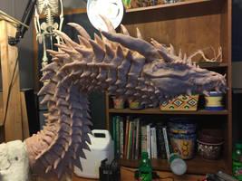 Titan Dragon Wip 8 by Tiamatus