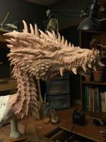 Titan Dragon WiIP 9 by Tiamatus