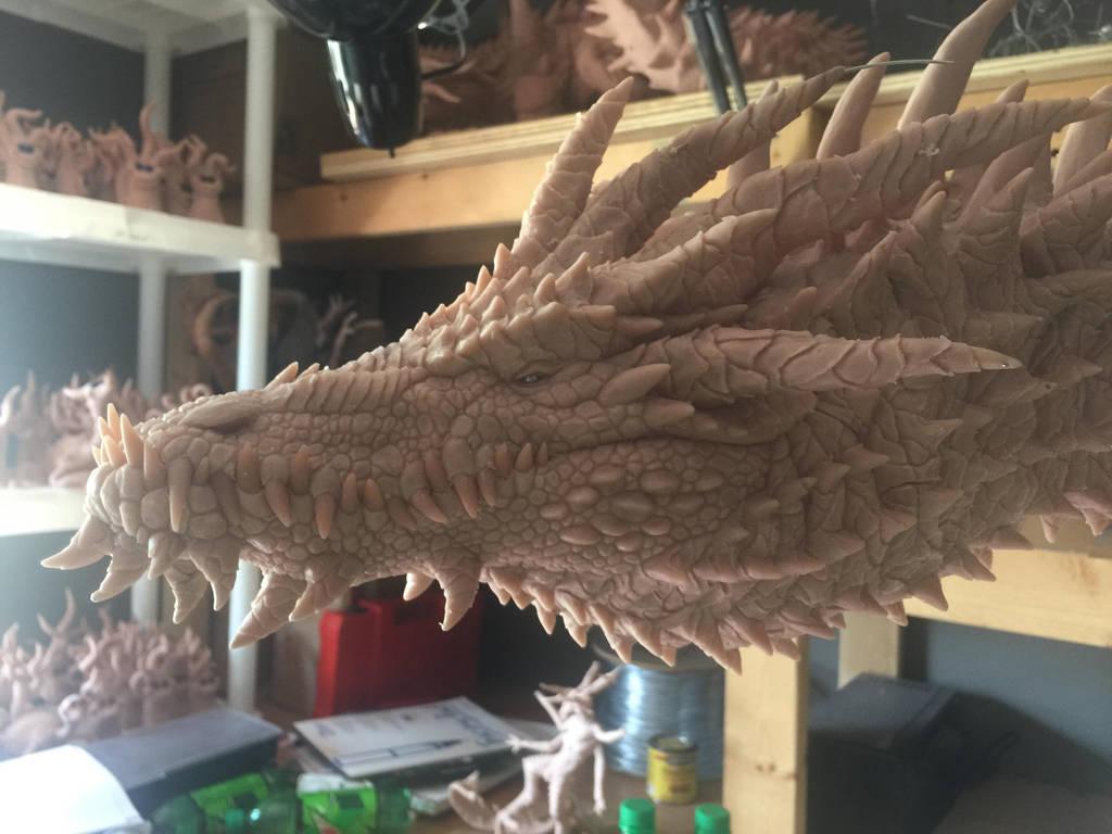 Titan Dragon WIP 10 by Tiamatus