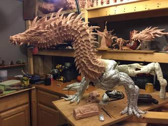 Titan Dragon WIP 11 by Tiamatus